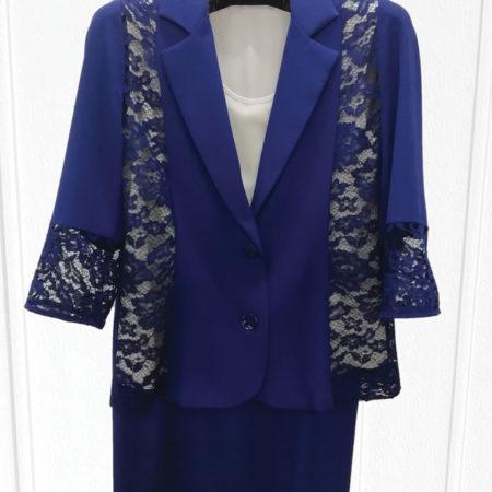 abito-3-pezzi-blu-china-giacca-canotta-gonna-taglia-pari