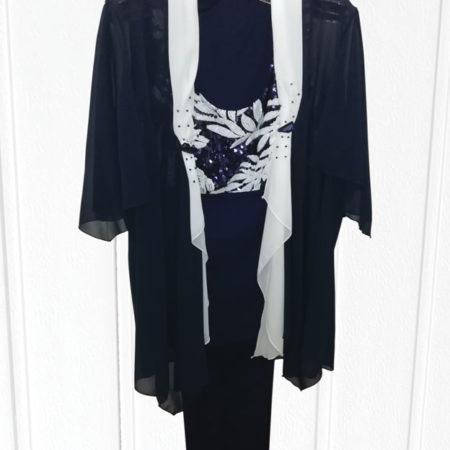 tailleur-3-pezzi-casacca-pantalone-canotta-taglia-calibrata