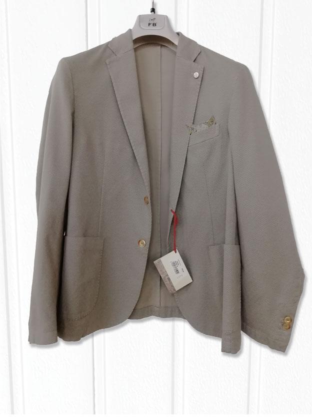 Giacca tinta unita in lana vergine giacche blazer