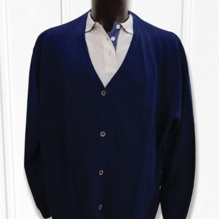 cardigan-uomo-redelmare-taglie-forti-5xl-blu-zip-grigia-colletto