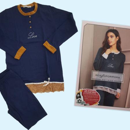pigiama-donna-art-dianna-rosso-porpora