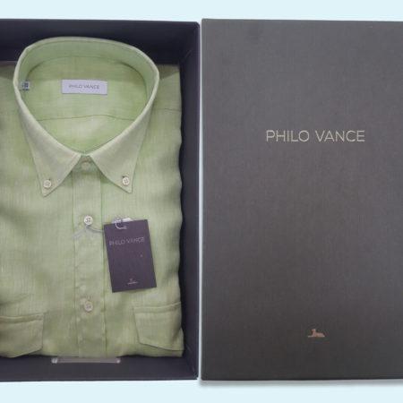 camicia-uomo-manica-lunga-art-caraibi-2taschini-verde-pistacchio-philo-valance