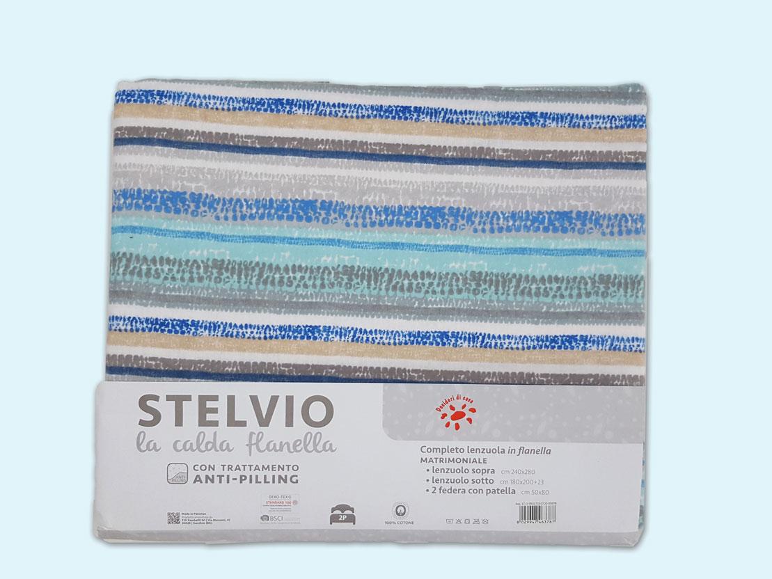 Stoffa Di Flanella Per Lenzuola completo lenzuola matrimoniale in flanella, art. stelvio, desideri di casa