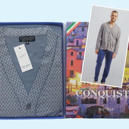 pigiama-cardigan-orlato-tasche-2110-smoky-conquista