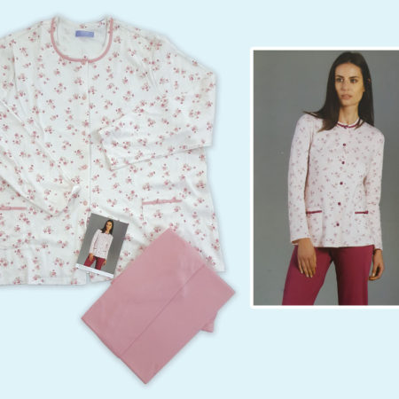 pigiama-donna-manica-lunga-pesante-art-92197-colore-panna-blush