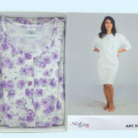 camicia-da-notte-donna-rose-viola-art1026-Silvia