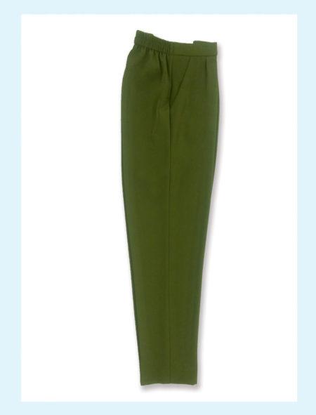 pantalone-elasticizzato-donna-art-120-dm-style-color-oliva
