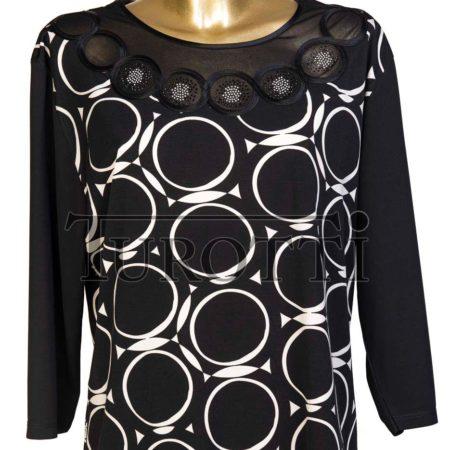 maglia 3/4 oversize donna