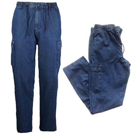 jeans uomo sea barrier grandi taglie