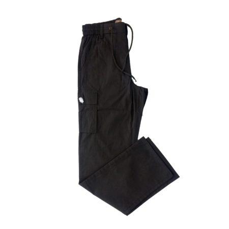 pantalone cargo lungo nero uomo