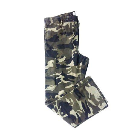 pantalone cargo militare leggero estivo da uomo