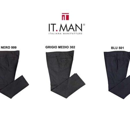pantaloni classici oversize