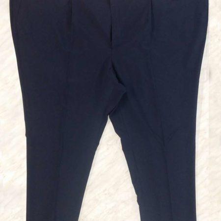 pantaloni taglio classico over size