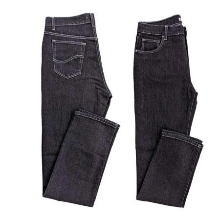 jeans neri in tutte le taglie