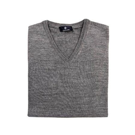 pullover lana merino uomo beige