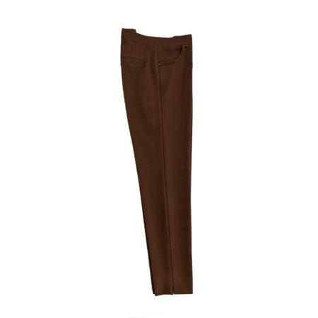 pantalone leggings elasticizzati donna ruggine