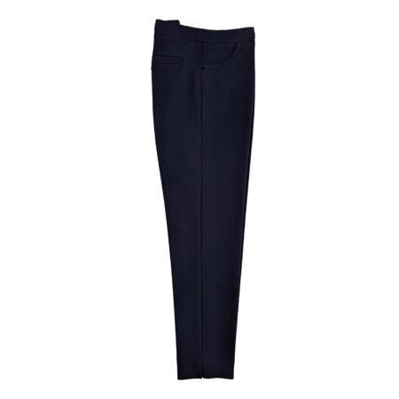 pantalone leggings elasticizzati donna blu