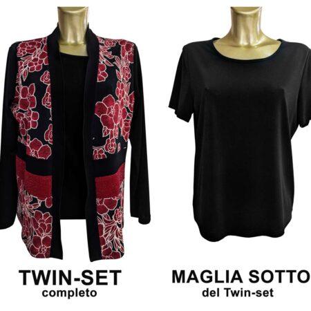 twin set donna Elena autunno inverno 2 pezzi