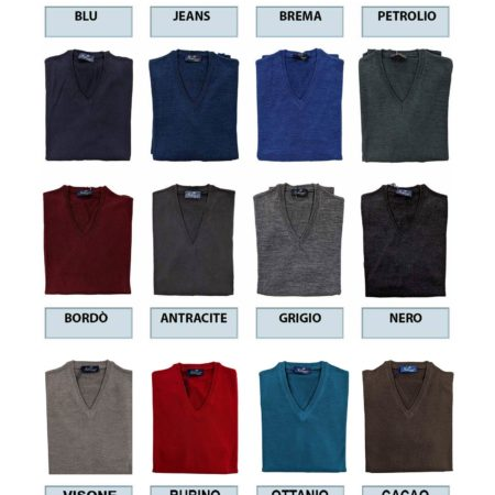 pullover tinta unita in tanti colori leggero lana merino