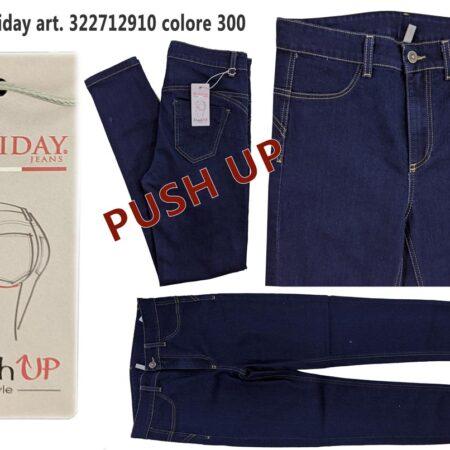jeans denim donna push up slim fit