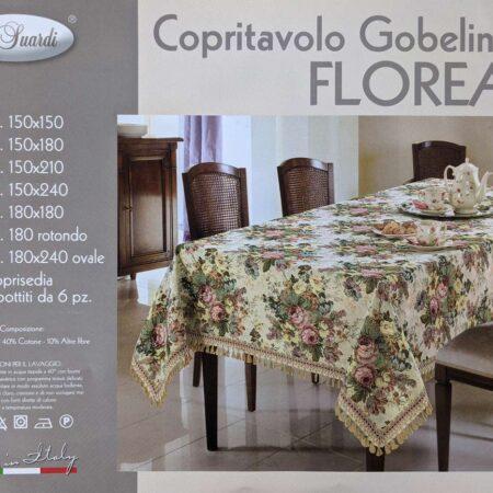 copritavolo gobelin florean