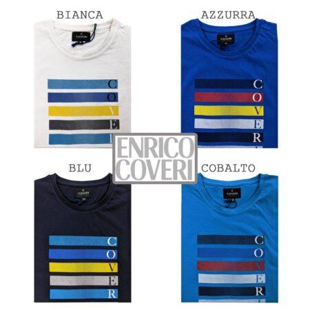 t shirt uomo Enrico Coveri TJ2440