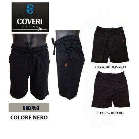 Pantaloncini corti da uomo di coveri neri