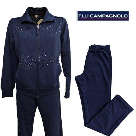 tuta da donna F.lli Campagnolo blu e blu