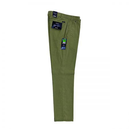 Pantaloni Pantaloni giovanili uomo Bruhl color verde pisello Bruhl uomo giovanile verde pisello