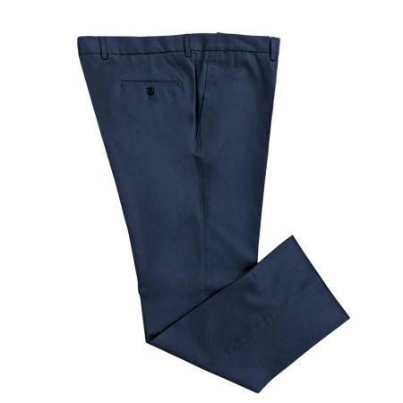 pantalone classico grandi taglie blu
