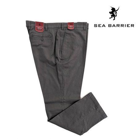Pantaloni taglie forti giovanili grigio