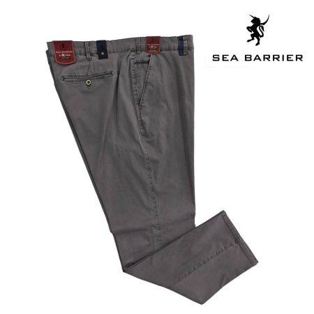 pantaloni da uomo conformati grigi