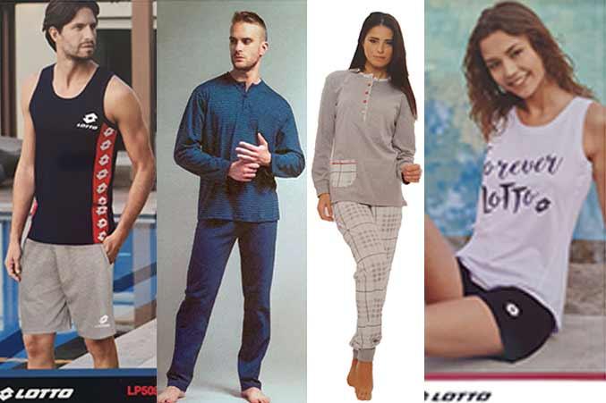 vendita on line di pigiami uomo donna